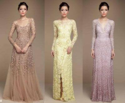 vestidos de renda para casamento delicados modelos
