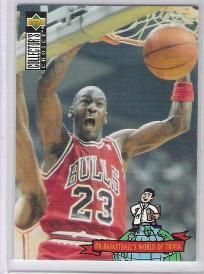 1993-1994 93-94 Upper Deck Collector's Choice #402 Jordan World of Trivia ---> shipping is $0.01 !!!