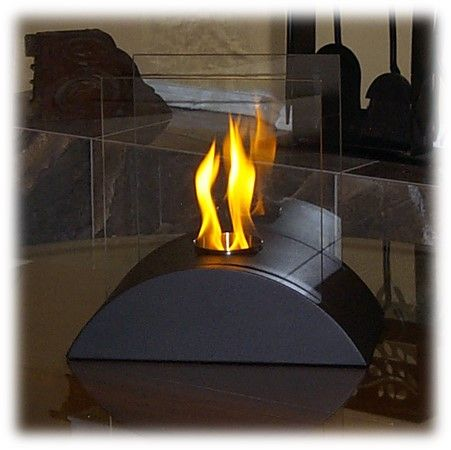 Alternative fuel main page and small spaces on pinterest for Alternative fireplaces