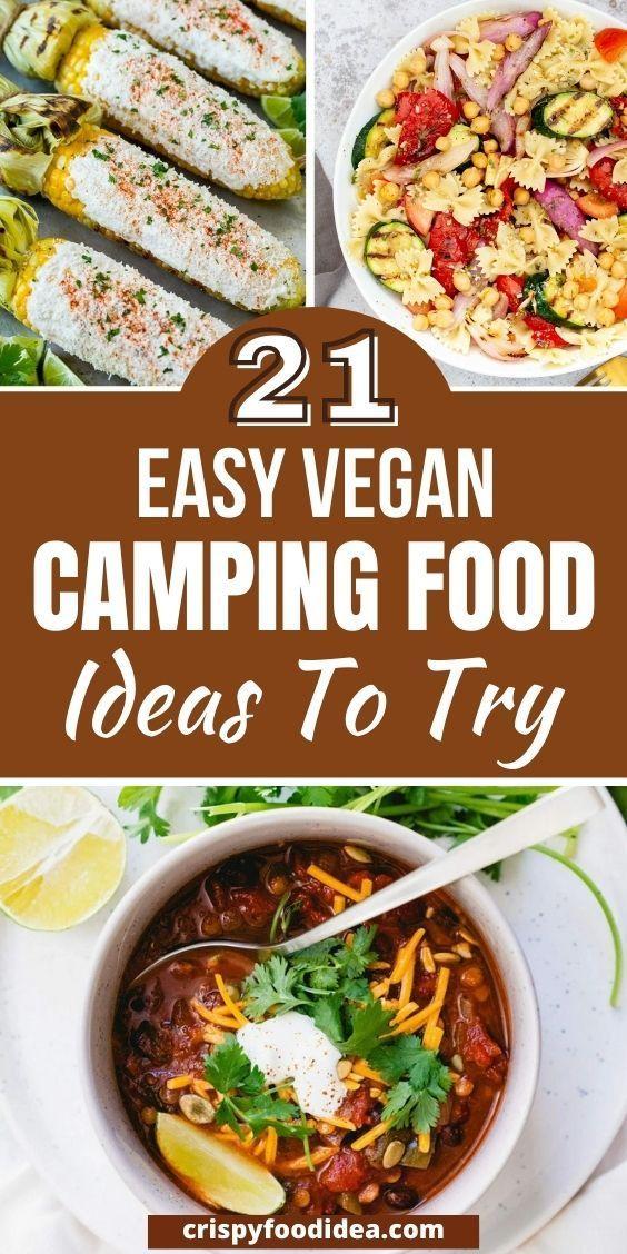 vegan camping foods