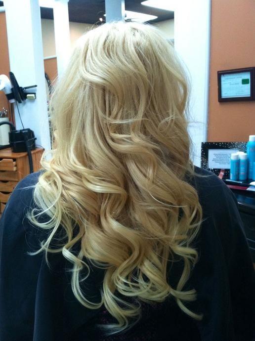 Blonde Hair extensions:
