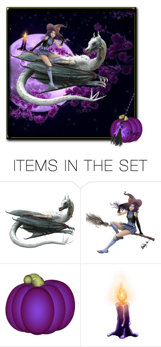 """""""Don't Leave Home Without Your Dragon"""" by theonly-queenregina ❤ liked on Polyvore featuring art"""