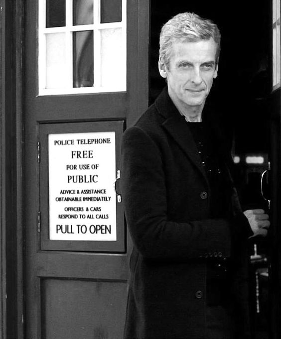 """Of course it's always horrifying to see yourself…One is always slightly disappointed- I think I'm much better looking than that."" Peter Capaldi, on not liking to watch himself in Doctor Who:"