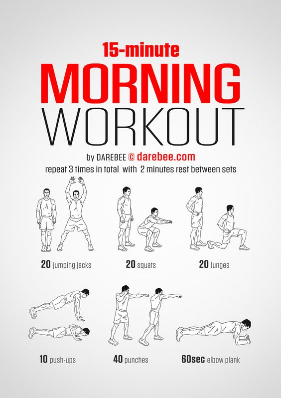 Super short workouts can be very effective for building strength and cardio endurance. This time-efficient bodyweight workout from DAREBEE doesn't require equipment and is perfect for doing at home, in a hotel room, in a dorm room, or even an empty meeting room.:
