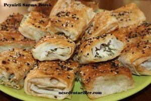 Peynirli Sarma Börek / Wrapped Cheese Pastry