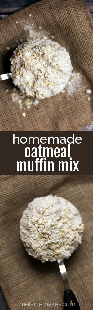 Why buy store bought when homemade is better for you and your wallet?  This Homemade Oatmeal Muffin Mix is perfect to keep on hand in your pantry for a quick breakfast and also makes a great gift.