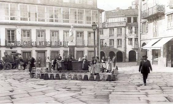 Plaza do Toural  #fotosantiguas