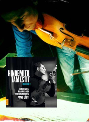 Sans conteste parmi les meilleurs altistes du monde, Antoine Tamestit consacre son nouvel enregistrement chez naïve au compositeur et altiste Paul Hindemith, à l'occasion de l'anniversaire de sa mort.