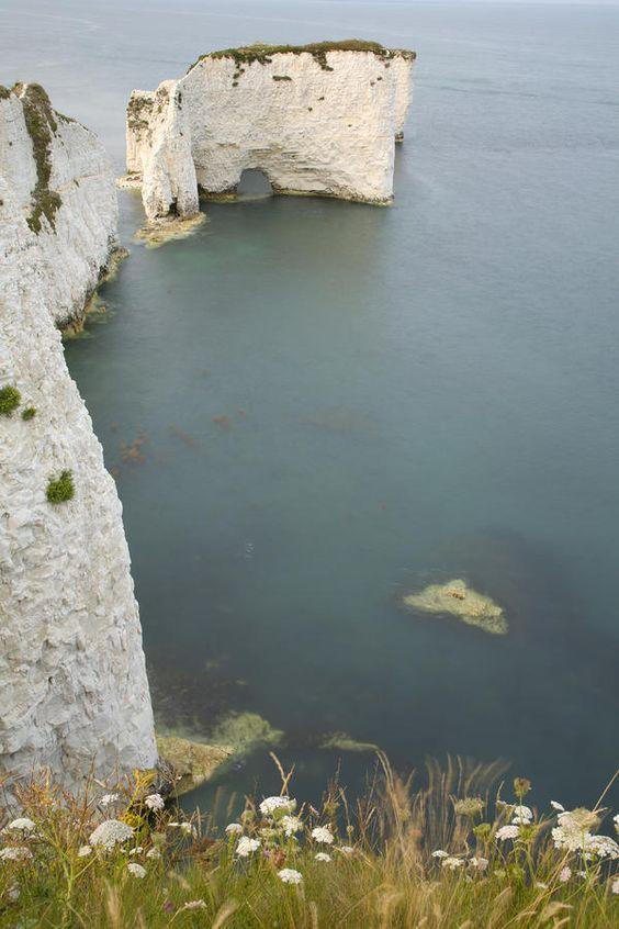 ✮ The Pinnacles at Old Harry Rocks, Jurassic Coast, Dorset, England