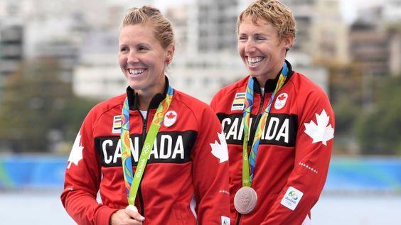 <b>Updated:</b> Canadian rowers Lindsay Jennerich and Patricia Obee take home a silver medal in the women's lightweight double sculls on Day 7 at Rio 2016.