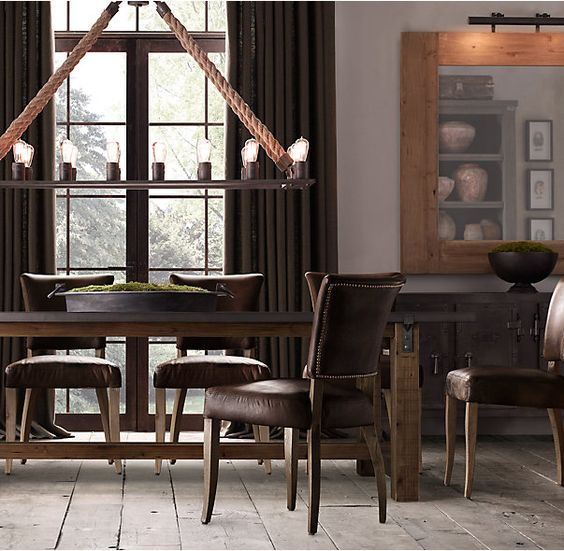 Reclaimed Wood amp Zinc Top Strap Rectangular Dining Table  : d6fd949fb2e94b5f9f5668a0d3b30f3a from www.pinterest.com size 564 x 551 jpeg 64kB