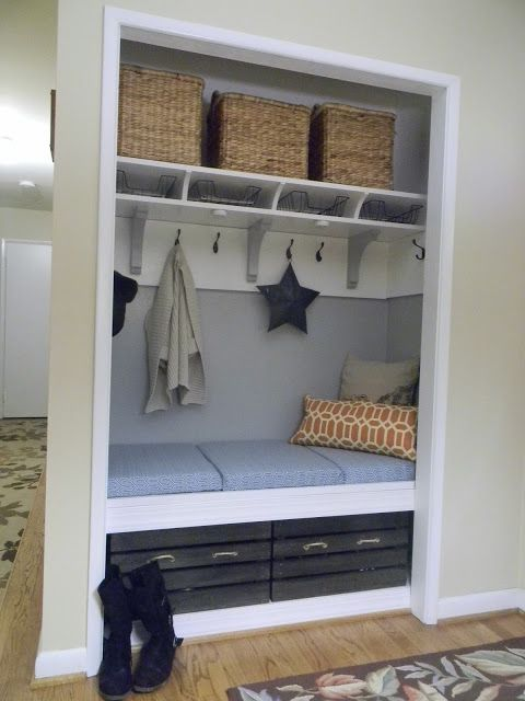 The Diligent One: Mini-mudroom Reveal
