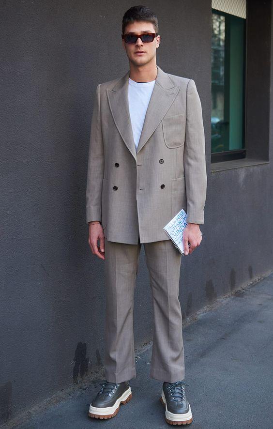 ハイカットスニーカー海外メンズコーデAnonymous's Style | Street Style Photos at FashionBeans.com