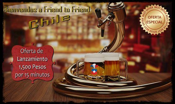 Promoción de Bienvenida Friend to Friend Chile