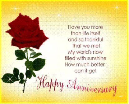 Wedding Anniversary Clip Art | Free Anniversary Greeting Cards ...