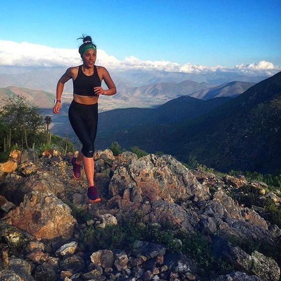 Did you know that trail runners spend more time with their feet in the air  between each stride than any other kind of r…   Outdoor woman, Go outdoors, Trail  runners