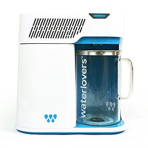 Waterlovers 2800 Water Distiller With Smart Technology Water Filter Purifier With Stainless Steel Boiler An Glass Jug Countertop Water Filter Distilled Water