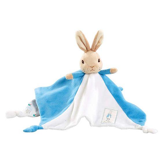 BuyBeatrix Potter Peter Rabbit Baby Comforter Online at johnlewis.com