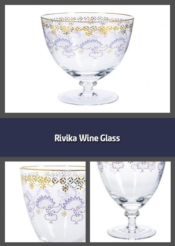 Rivika Wine Glass In 2020