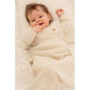 Pletený spací pytel Disana