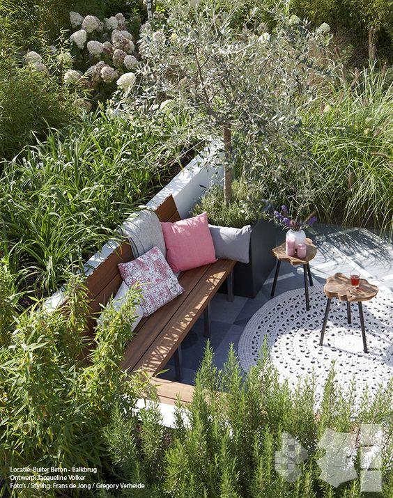 Tuin lounges and met on pinterest - Ontwerp banken ...