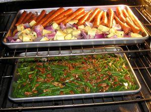 Vegetarian Easter dinner | Roasted vegetables, Vegetables and ...
