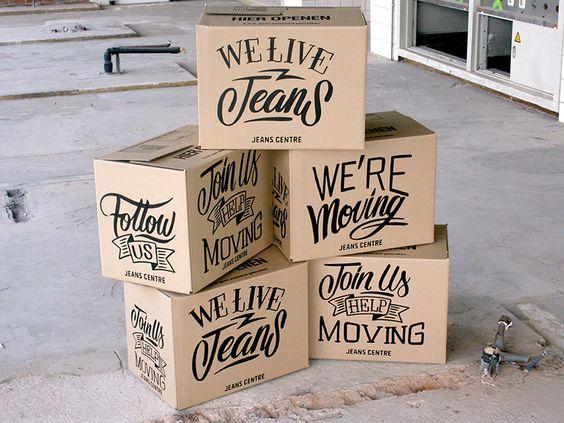 Custom handlettering boxes by bijdevleetTwitter || Source