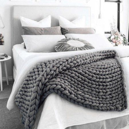 Bed Throws in 5 Sizes Large Luxury 100/% Cotton Woven Sofa