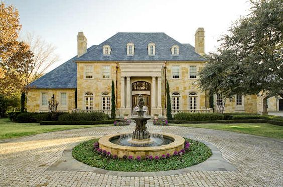 French country house exteriors classic country french for French manor homes