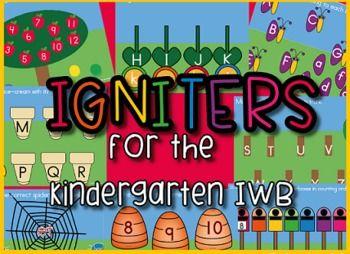 Kindergarten IWB Igniters - Quick Games for Basic Skills