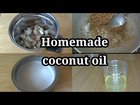 How To Make Coconut Oil At Home Home Made Coconut Oil In Tamil