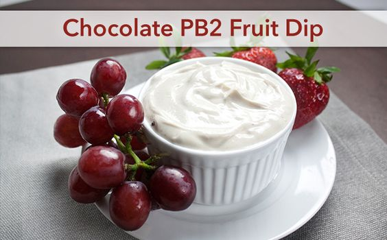 Chocolate PB2 Fruit Dip | Recipes You'll Love