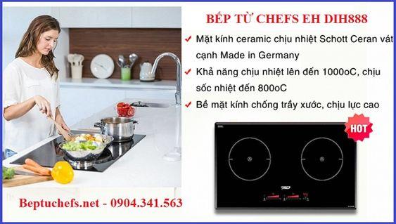 Đây là lý do vì sao nên mua bếp từ Chefs EH DIH888
