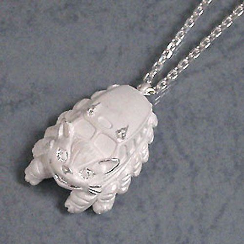 Cat bus sterling silver necklace!