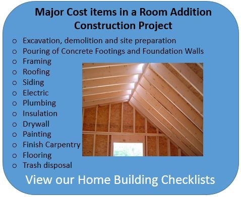 Learn How To Estimate Room Addition Costs And Not Blow Your Construction Budget Room Addition Cost Room Additions Home Addition Cost