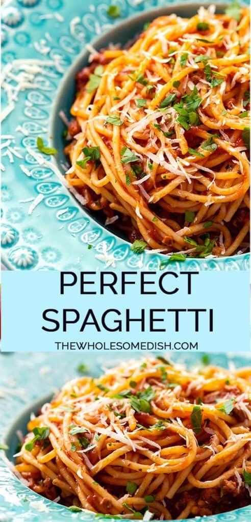 Spaghetti The Wholesome Dish Recipe In 2020 Best Spaghetti Foood Recipes Best Spaghetti Recipe
