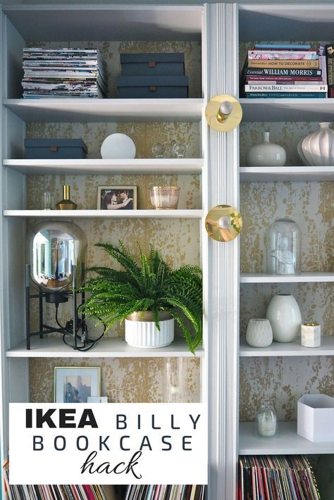 Ikea Billy Bookcase Shelving Hack Ikea Hack Ikea Hackers Flat Pack Bookcase Diy Billy Regal Upcycling Billy Regal Regal Kuche