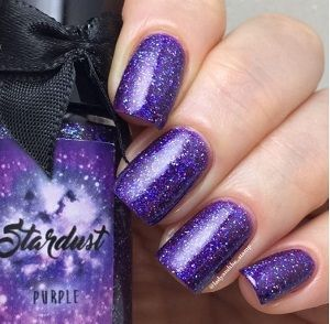 Esmaltes da Kelly- Stardust- Purple
