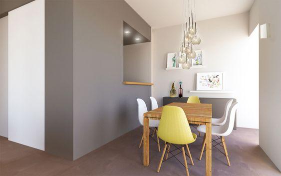 Apartamento trendy youdekor apartamento moderno con - Bandeja redonda ikea ...