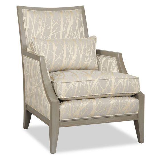 Sam Moore Kamira Exposed Wood Chair - Slate - 453521/2681 SLATE