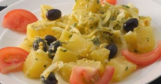 Receitas da Cily: Receita: Salada de batata