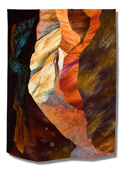 Antelope Quilters Canyon quilt, by Ruth ...
