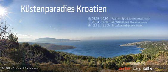 """TONIGHT on TV ARTE @ 1930 """"Küstenparadies Kroatien"""" documentary film about Croatian coast & islands!!"""