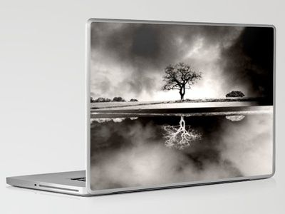 Solitary Reflection Laptop & iPad Skin by Ally Coxon - $30.00