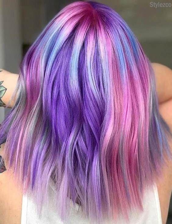 Pretty Unique Colorful Hair Ideas For Ladies Girls Girl Hair Colors Hair Styles Mermaid Hair