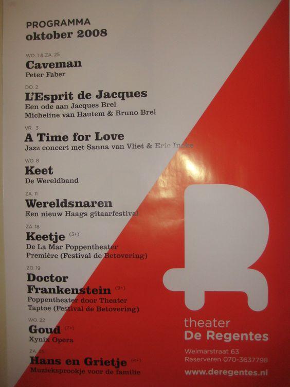 Poster van De Regentes, 2008
