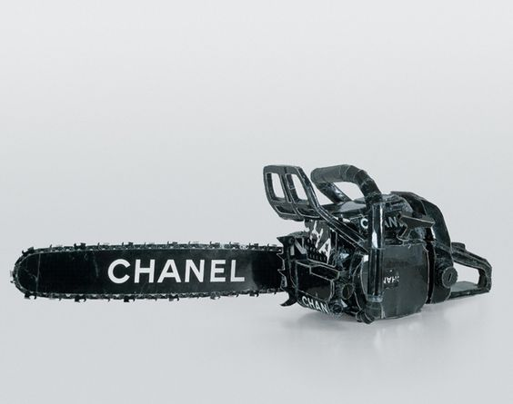 Tom Sachs: Work / Chanel Chain Saw
