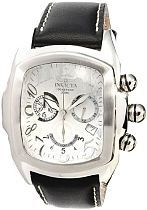 Invicta Men's 13690 Lupah Analog Display Swiss Quartz Black Watch (13690)