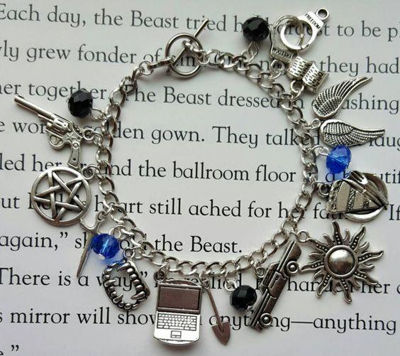 Supernatural Charm Bracelet - AleaysBelieveJewelry