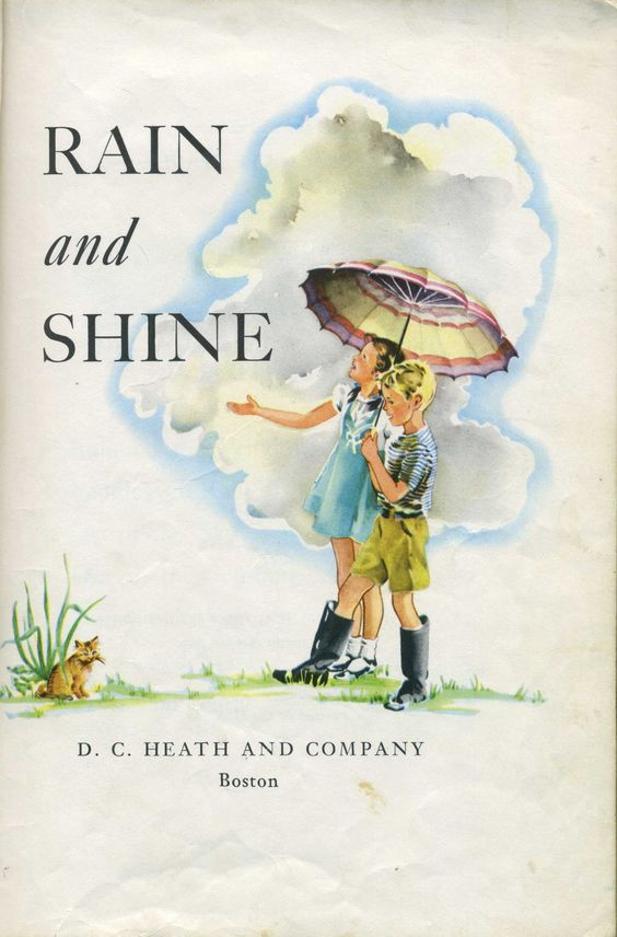 Illustration from Rain and Shine by Ruth Steed